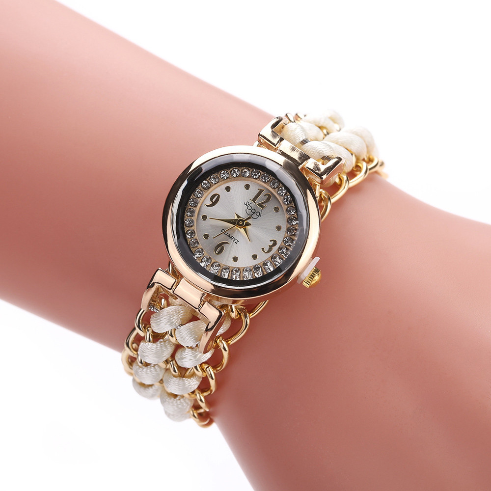 2019 Watches Women Knitting Rope Chain Winding Ladies Analog Quartz Wrist Watch Montre Femme Drop Shipping High Quality A42019 Watches Women Knitting Rope Chain Winding Ladies Analog Quartz Wrist Watch Montre Femme Drop Shipping High Quality A4