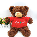 (1 Piece)40CM Kawaii Chubby Teddy Bear Plush Stuffed Animals Fluffy Soft Toys CoCo Bear in Sweater Children Girls Birthday Gifts