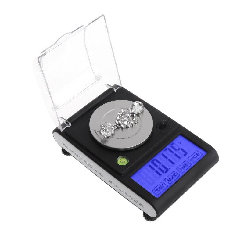 50g/0.001g LCD Balance numérique poids milligramme Balance bijoux balances électroniques Z1017