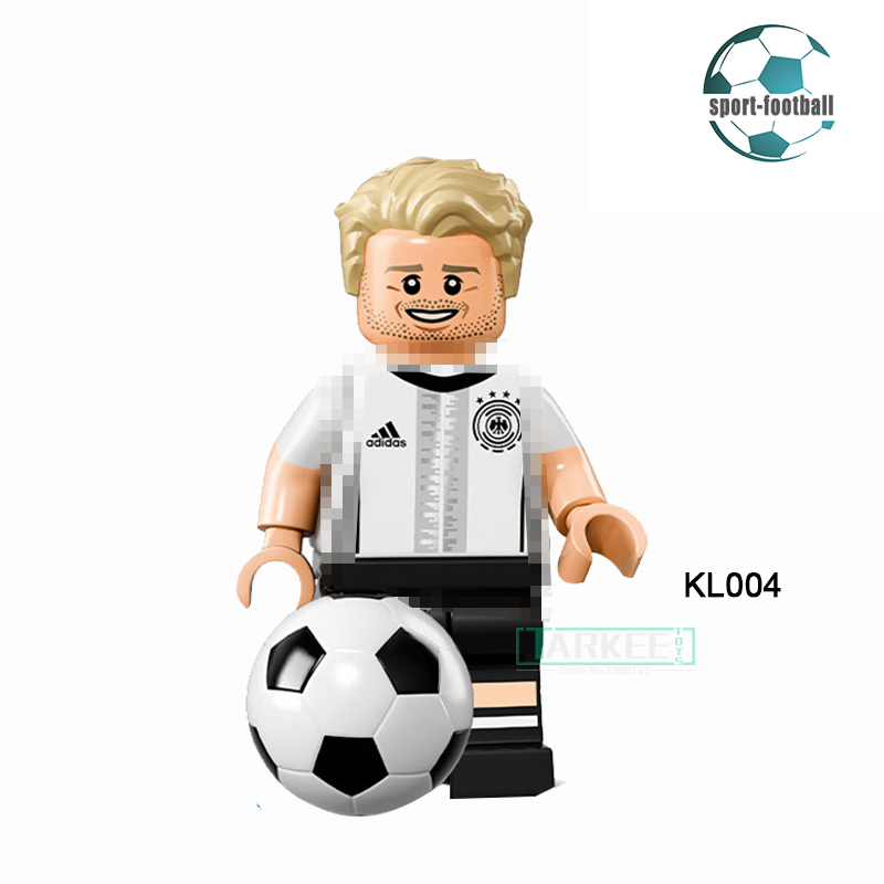 Building Blocks Andre Schurrle Super Star Soccer Football Germany team diy figures Super Hero Bricks Kids Toys Hobbies