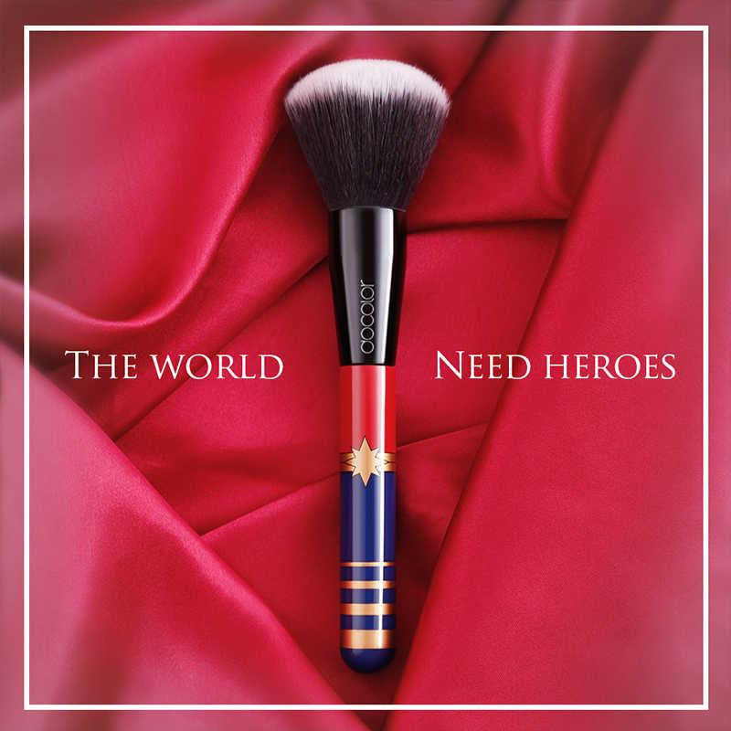 Docolor 12 sztuk zestaw pędzli do makijażu profesjonalne pędzle do makijażu syntetyczne włosy Powder Foundation pędzle do makijażu Eyeshadow