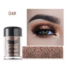 20g Chunky Eye Glitter Eyeshadow Shimmer Sequins Nail Face Eye Shinny Paillette Dance DIY Glitter Face Stickers Powder B(China)