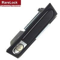 Rarelock 32mm 142mm Professional Manufacture Security Zinc Alloy Simple Bus Truck Door Lock Cerradura