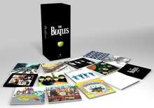 Новый бренд CD The Beatles Stereo Box костюм для мальчиков, футболка + штаны 16CDs и 1DVD коробка костюм для мальчиков, футболка + штаны новый с завода опечатаны новости