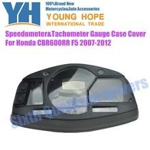 Free Shipping Speedometer Tachometer Gauge Case Housing Cover Fits For Honda CBR600RR F5 2007 2008 2009 2010 2011 2012 Custom