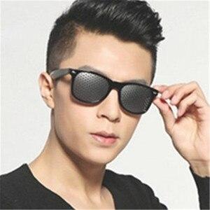Pinhole Sunglasses Improve Nat