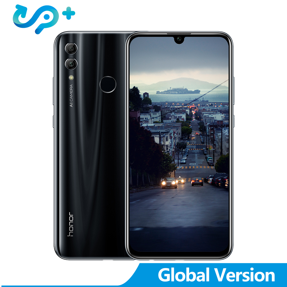 Version mondiale Huawei honor 10 Smartphone d'origine 4G 128G Kirin 970 AI processeur 5.8 pouces 24MP caméra honor 10 1080 P honor 10