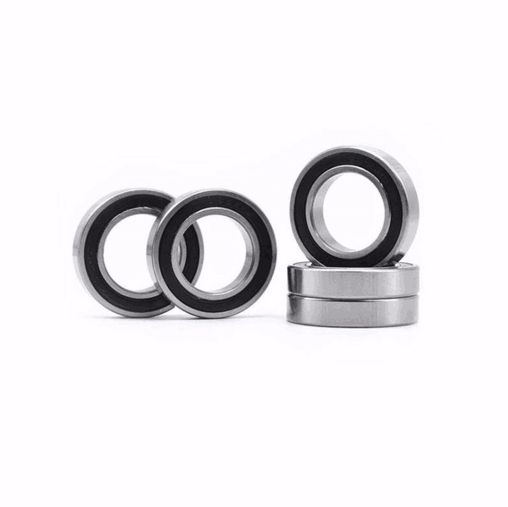 16x27x7 mm Rubber Sealed Ball Bearing Bearings BLACK 16277-2RS 10 PCS