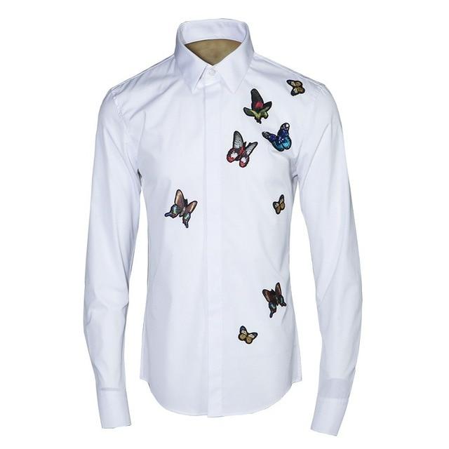 De Los Hombres de moda Diseñador de la Camisa Camisas de