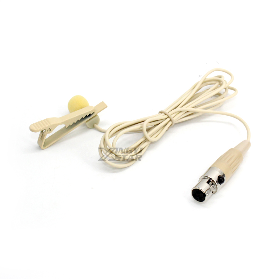 10Pcs Mini XLR 3 Pin TA3F Wired Condenser Tie Clip Lapel Mic Lavalier Microphone Microfono Professional Wireless Karaoke System - 5
