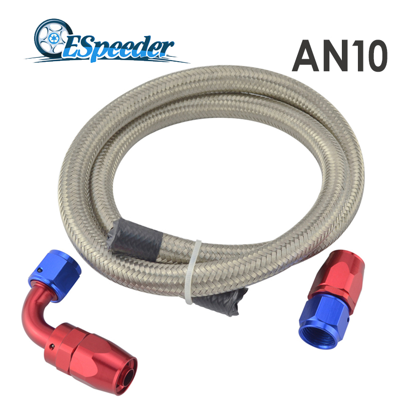 An straight hose end degree swivel fitting