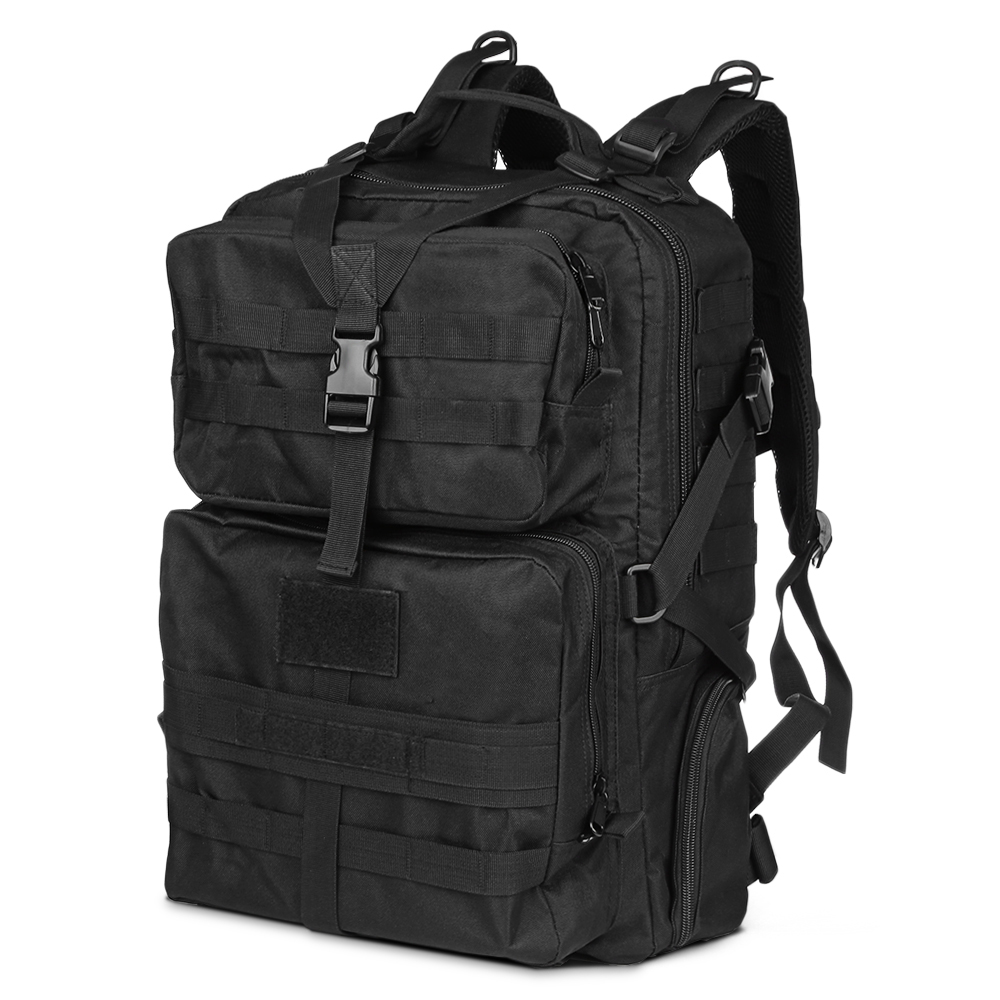Outlife 45L Military Tactical Camping Bag Backpack Outdoor Bags Climbing Hiking Bags Backpacks Molle Tactical Camouflage Bag 45l 3p backpack molle outdoor tactical backpacks 1000d nylon travel climbing bags outdoor sport hiking camping army bag military