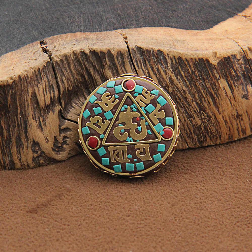 15 Stijlen Retro Nepal Kralen Handgemaakte Red Coral Tibetaanse Kraal Antieke Gouden Voor Sieraden Maken Diy Armbanden 1168
