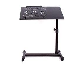9% LK365 вращающийся компьютерный стол для колеса кровати с тормозом и регулировкой угла наклона стол для ноутбука с USB вентиляторами мебель для дома и офиса