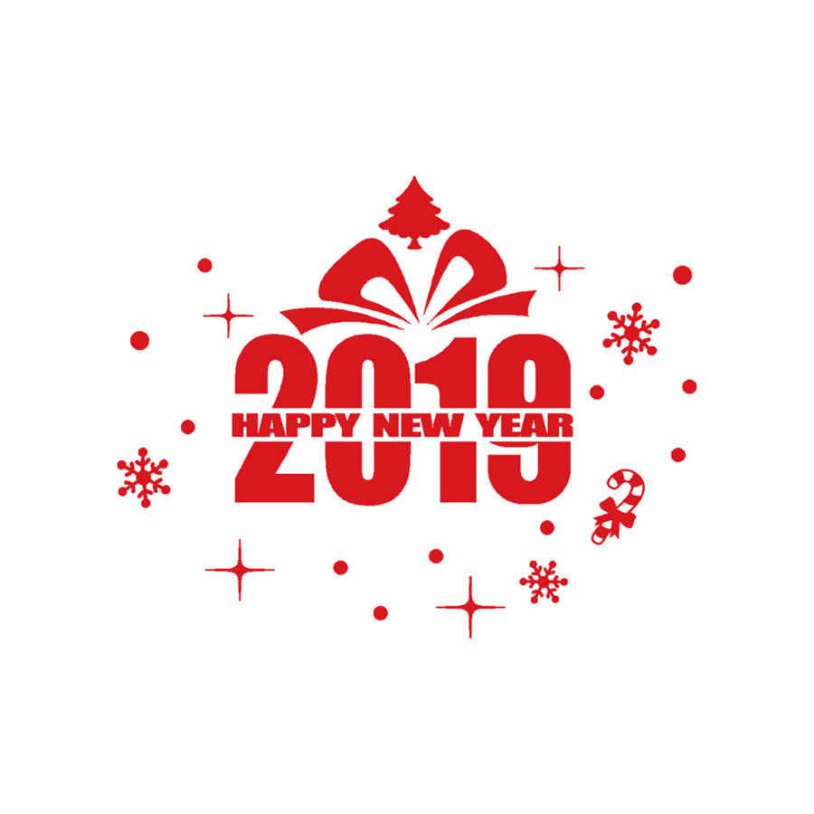 2019 Новогодние рождественские снежинки стикеры на стену домашний магазин окна Наклейки Декор 50*40 см дропшиппинг @