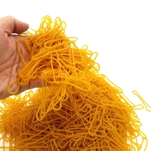High quality yellow 60MM rubber band in diameter