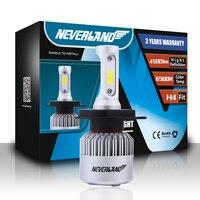 NEVERLAND H4 LED Motorcycle Headlight Bulb 4500LM 36W Hi Lo Conversion Kit 6500K Motor Bike Headlamp