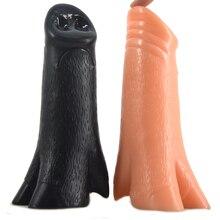 13175e1cc FAAK animal dildo big anal plug pig mouth nose foot big dildo anus massage  couples flirting