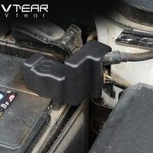 """Creta Vtear Para Hyundai ix25 accesorios batería negativo """"-"""" cubierta de protección Marco Clip de Caso Plástico ABS productos de creta 2015-18"""