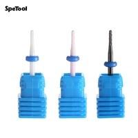 3Pcs Electric Manicure Bits Set Professional Nail Electric Drill Bit Kits Medium Grinder Nail Grinding For