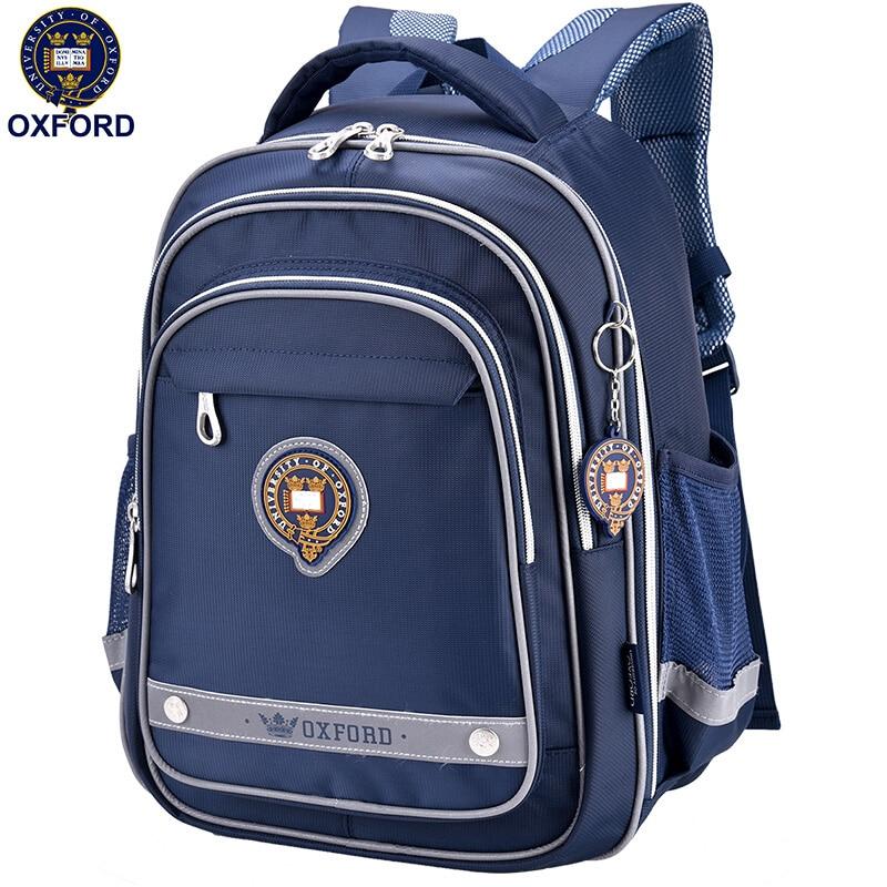 OXFORD UNIVERSITY children kids element Books orthopedic school bag shoulder backpack portfolio for Boys for grade