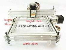 Hot Sale small DIY Laser Engraving Machine 1720 laser metal carving cnc router laser engraver parts printer brands 500MW~2500MW