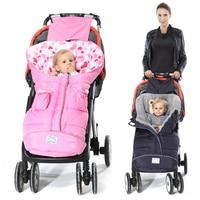 Thicken Baby Sleeping Bag Baby Stroller Sleeping Bag Winter Warm Sleepsacks Robe For Infant wheelchair envelopes for newborns