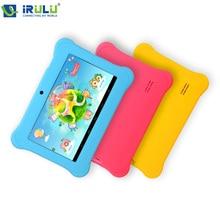 """Irulu Y1 7 """" Kids Tablet para los niños Quad Core IPS pantalla 1024 * 600 del androide 4.2.2 1 GB + 8 GB Wifi Babypad con el caso regalo 2016"""