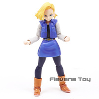 SHF S.H.Figuarts Anime Dragon Ball Z Android NO. 18 Lazuli PVC Action Figure Collection Model Toy