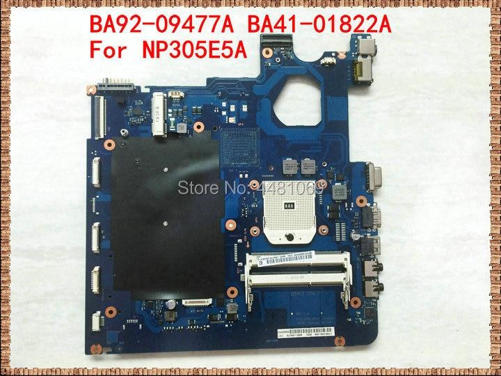 For SAMSUNG NP305E5A 305E5A Laptop Motherboard BA92-09477A BA41-01822A BA41-01820A BA41-01819A Mainboard 100%tested Fully Work