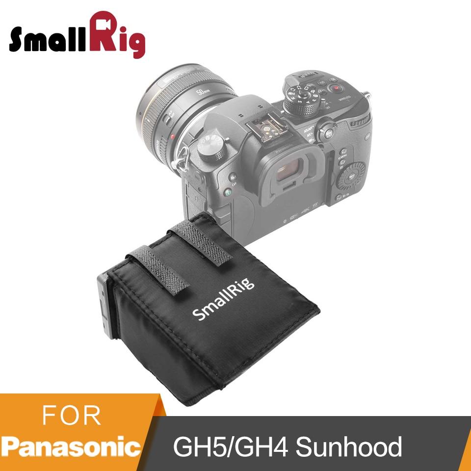 SmallRig LCD Screen Sun Shield Hood for Panasonic Lumix GH5/GH4/G85/G7/GX8 DSLR Camera/Camcorders Viewfinder Sunshade Hood-1972