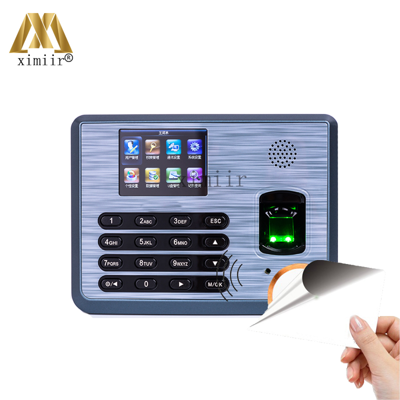 TX628 TCP/IP Fingerprint Time Attendance Recorder Time Clock With MF Card Reader ZKLinux System Fingerprint Time And Attendance a c030t fingerprint time attendance clock id card tcp ip usb