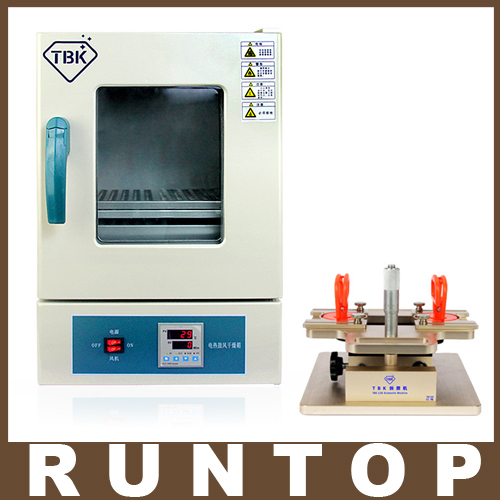 TBK-228 Eletric Heating and Air Blow Seperating Roaster LCD Repairing Equipment+TBK-928 LCD Dismantle Machine Precisely Adjust  tbk 228 electric heating and air blow separating roaster lcd repairing equipment