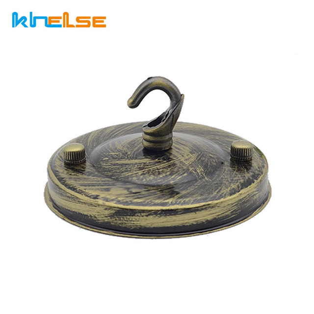 110mm ceiling plate hook chandelier hook lantern hook Hook Into Ceilings For large plants  sc 1 st  AliExpress.com : chandelier decorative ceiling plate - pezcame.com