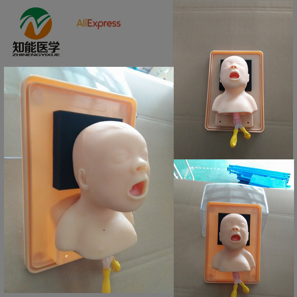BIX-J2A Neonate Head For Trachea Intubation Model W072 bix j3a advanced infant head for trachea intubation model wbw067