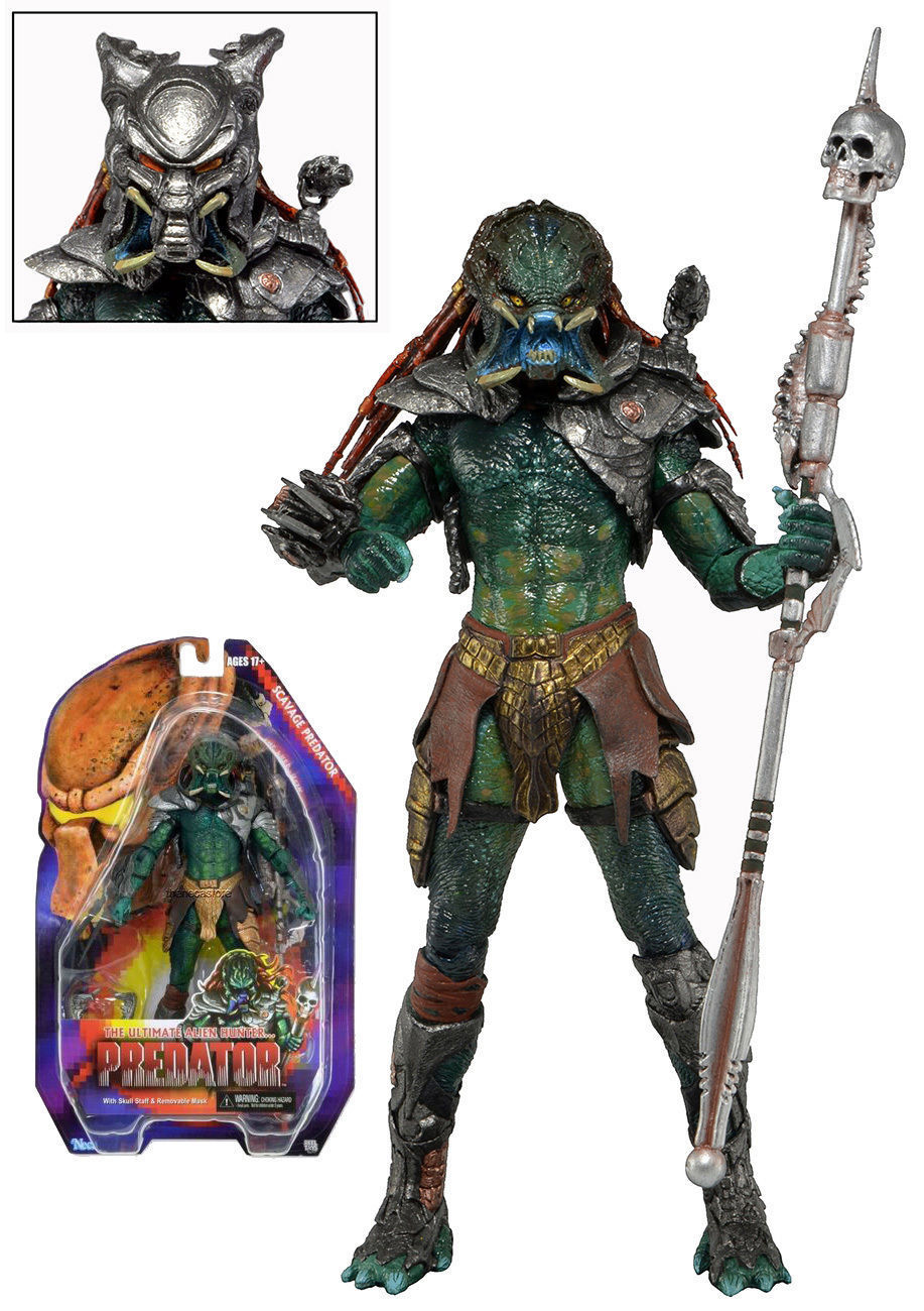 NECA Series 13 Scavage Predator Model Action Figure Toy Figurine Collection Gift Anime Figure Collectible Model Toy soccerwe dolls figurine football stars 17 18 7 c ronaldo movable joints resin model toy action figure dolls collectible gift