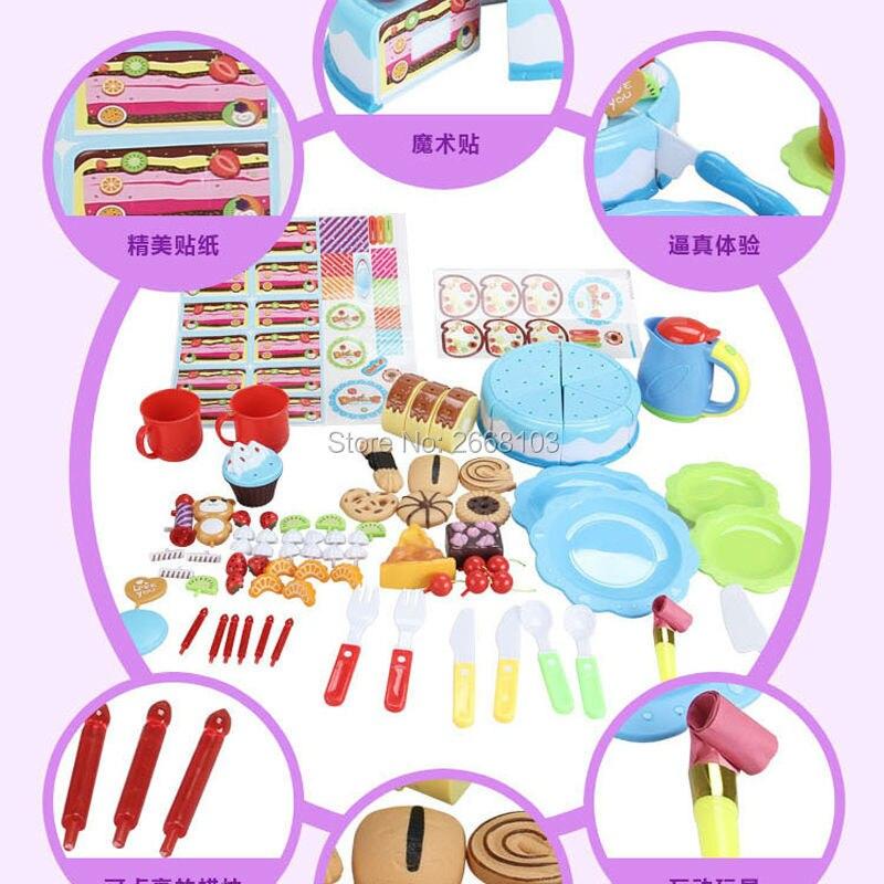 Cake Toy 55PCS / Set Fruit Girl Балалар үйі - Ойындар мен басқатырғыштар - фото 6