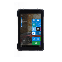 8 Rugged Windows 10 Android Tablet with 1D 2D Bar code Scanner Reader Handheld Industrial Computer PDA Scanner NFC RFID Tablet