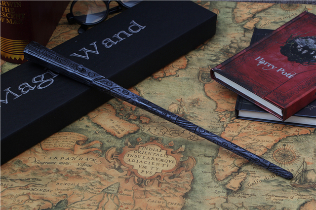 New Arrival Harry Potter Wand Toy Sirius Black Magic Wand With light Cosplay Prop Film Periphery Collection Child Toy Kids Toys