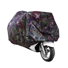 MOTO TARPAULIN COVER Camouflage pattern Motorcycle Covers mountain scooter protection moto couverture