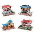Куб. Весело 3D головоломки DIY Мир Стиля Картона Модель Творческие Игрушки Ручной Работы, турция Вкус Puzzle 3D Модели Развивающие Игрушки