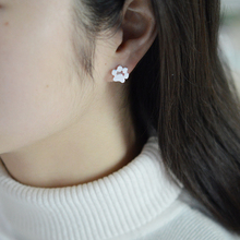 Tiny Paw Print Stud Earrings