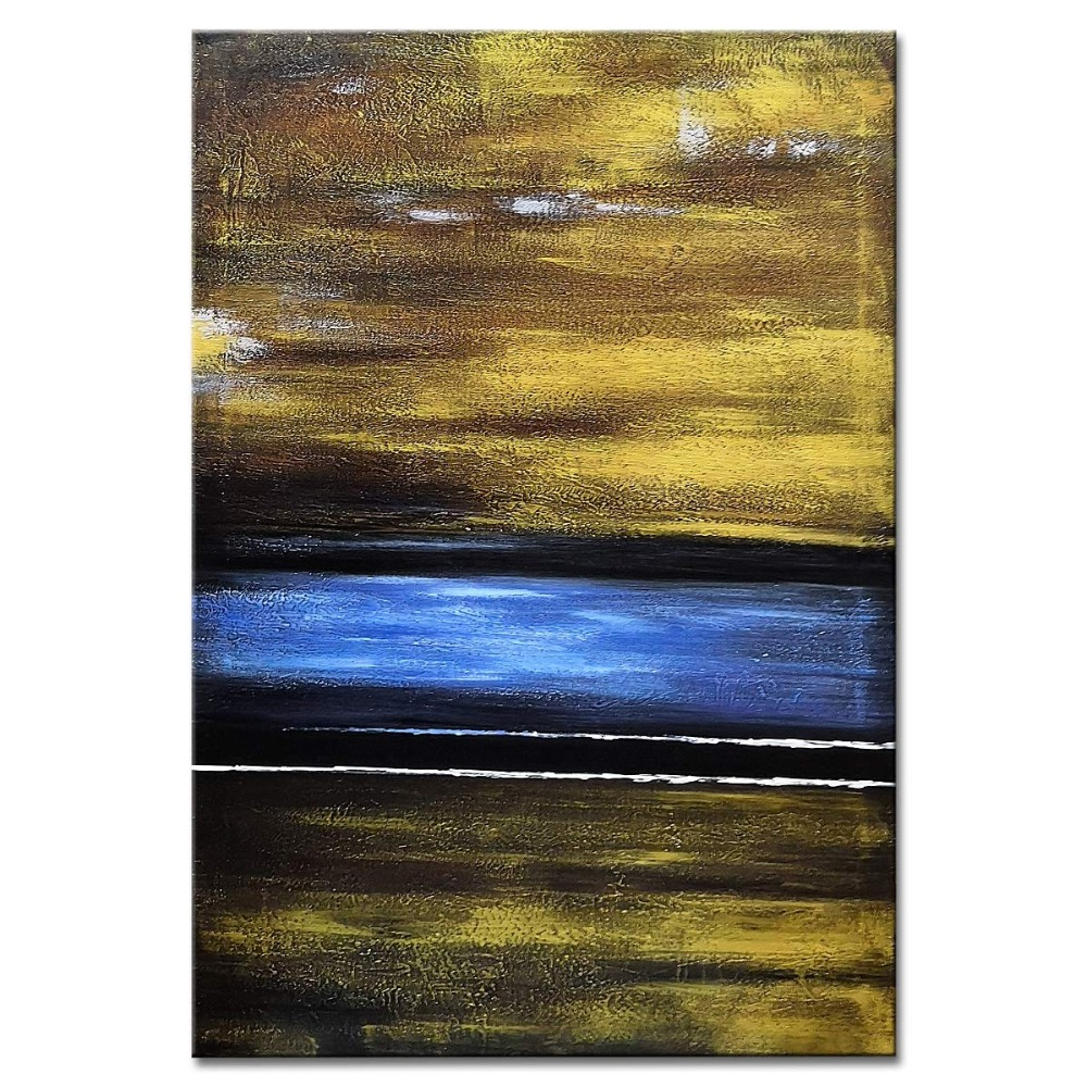 Hand painted abstract  oil painting landscape painting art modern home decor abstract wall art picture for living room on canvasHand painted abstract  oil painting landscape painting art modern home decor abstract wall art picture for living room on canvas