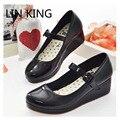 LIN REY Nueva Lolita Dulce Lourie Cosplay Solos Zapatos Mujer Zapatos de Dama Zapatos de Cuña Mujeres Bombas de la Plataforma de Ocio de Moda Zapatos de Fiesta