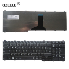 GZEELE Spanish SP Teclado keyboard for Toshiba Satellite C660D L650D L670D L750D L770 BLACK