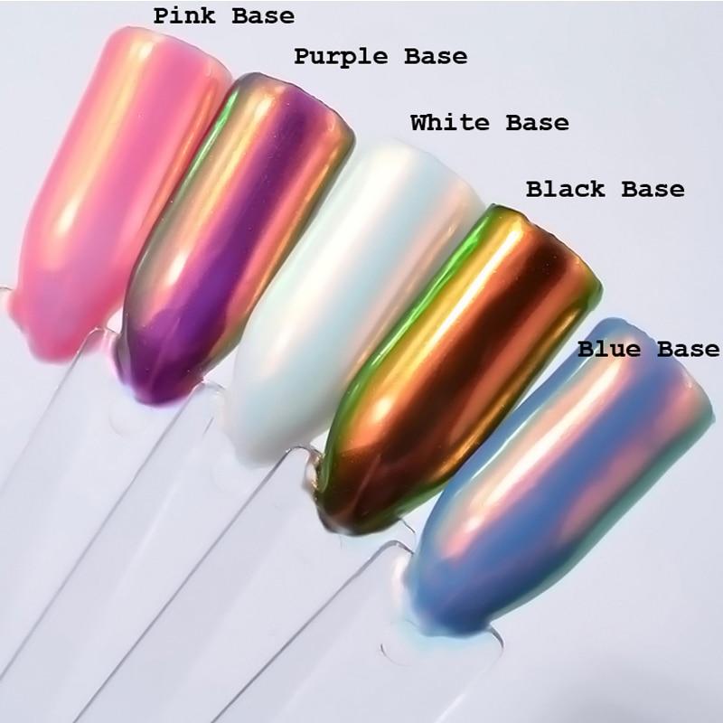 0.2g box neon nail glitter powder
