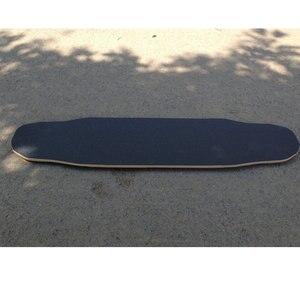 Image 3 - Free Shipping 115*27cm Longboard Sandpaper Griptape 125*27cm Black Professional Skateboard Silicon Carbide Skate Board GripTapes