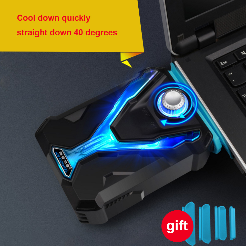 Hot Laptop Cooler Exhaust Processor cooling Fan USB Air Cooler Heatsink Radiator Extractor CPU Cooler for Notebook Laptop Gadget-in Laptop Cooling Pads from Computer & Office