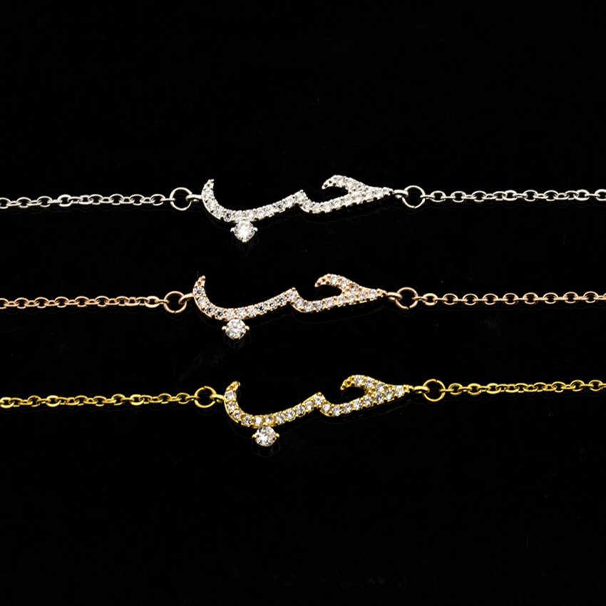 דובאי תכשיטי סטי קריסטל ערבית שרשראות & צמידי רוז זהב שושבינה מתנות אפריקאי חרוזים קריסטל כלה תכשיטי Bijoux