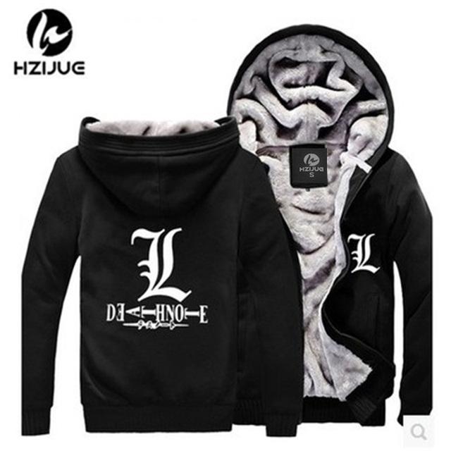 Death Note Jacket Sweatshirts Thicken Hoodie